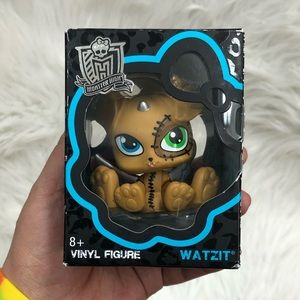 Monster High WATZIT Vinyl Figure| Frankie's Pet